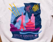 Epcot Center 10 Crewneck Swea, Around the World, 80s