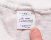 Towncraft Crewneck , M/L, See-Thru Thin 50/5080s