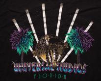 Universal Studios Florida  Glittery Globe Graphic Tee