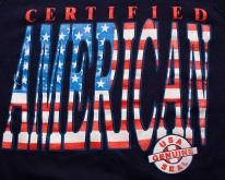 Certified American Crewneck Swea, Genuine USA Seal 80s