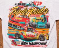 NASCAR Triple Header , Pennzoil, VIP, 96 Winston Tour