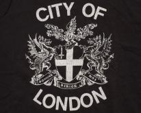 City of London Coat of Arms , UK England,  80s