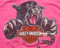 Pink Harley-Davidson Black Panther , Motorcycles, 90s