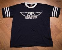Aerosmith 1997 Ringer T-Shirt, Svengali, Giant, Vintage 90s