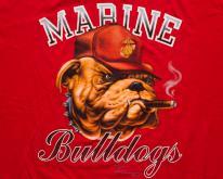 Marine Bulldogs , Cigar, USMC  1980s, US Corps