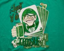 90s Leprechaun Luck O the Irish , Beer & Gambling