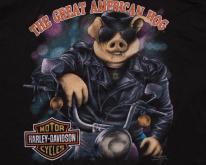 3D Emblem Great American Hog , Harley-Davidson, 90s