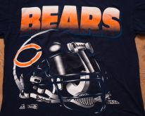 90s Chicago Bears Big Helmet Logo , Riddell