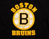 1980s Boston Bruins Logo , Starter, 3D Puffy Print