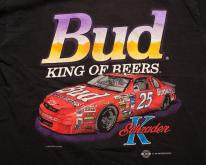 1995 Ken Schrader Bud King of Beers