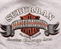 Harley-Davidson Suburban Hoodie Swea, Chicago