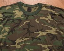 Rothco Camo , Thin 50/50 Tee, 80s Military Camouflage