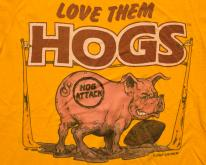 Love Them Hogs , Washington DC NFL Football Team, 80s