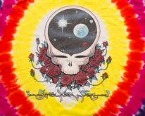 BIG Grateful Dead Space Your Face Tie Dye  2XL/XL Tee