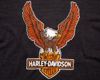 Harley-Davidson Eagle Logo  M Mayo Spruce  80s