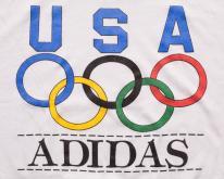 Adidas 1988 USA Olympics  Trefoil Graphic  80s