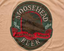 Moosehead Beer , Canadian Lager, Hipster Moose, 80s