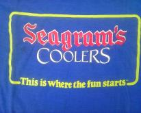 1986 SEAGRAMS COOLERS
