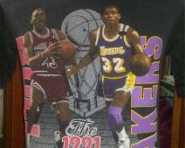 1991 NBA Finals Chicago Bulls Vs LA Lakers