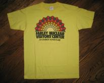 NUCLEAR Power Plant Energy Adventure Vintage 1980s T-shirt