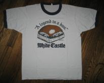 1982 White Castle Legend in a Bun vintage 80s Burger T-shirt