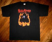 Vintage 1997 Busta Rhymes When Disaster Strikes 90s T-shirt