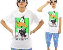 90s Daffy Duck Dentitht Warner Bros. Sz M