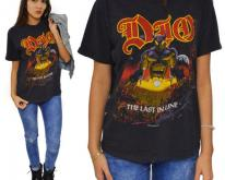 80s Dio The Last in Line Heavy Metal Sz L