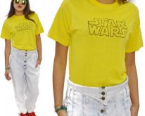 80s Star Wars Ched Yellow Sz L