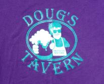 1990s Dougs Tavern Heuveltown NY Purple  L