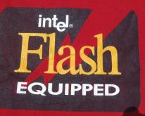 1990s Intel Flash Equipped Red
