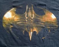 Vintage 1995 Batman Forever Black Movie T-Shirt L