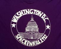 1990s Purple Washington DC Souvenir  XL