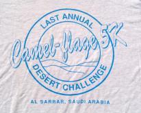 1990s Camel-Flage 5K Desert Storm Gray  L