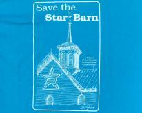 1990s Star Barn Pennsylvania Souvenir  L