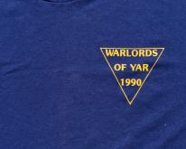 1980s Warlords of Yar Blue  L Hanes