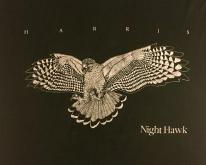 1980s Harris Night Hawk Black  L Screen Stars