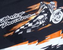 2000s Black Harley Davidson Motorcycles  L