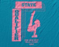 1990s Gym Nest 1991 State Qualifier Blue  M