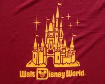 1980s Walt Disney World Garnet Souvenir  M/L