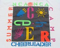 1990s White NCA Cheerleading Camp  S/M