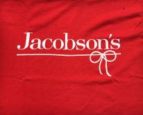 1980s Jacobson's Department Store Red  S