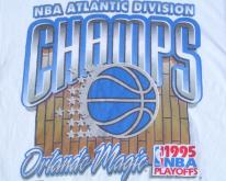 1995 White Orlando Magic NBA Cotton XL