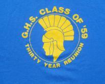 1980s GHS Spartans Trojans Class of 1959  XL