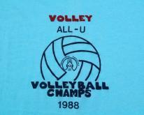 1988 All-U UCF Volleyball Champs  M/L