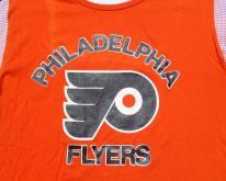 1980s Orange Philadelphia Flyers Jersey L/XL