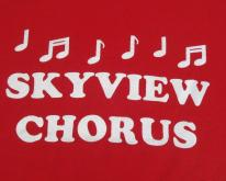 1990s Skyview Chorus Red