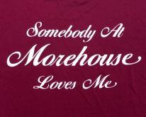 1980s Morehouse College Atlanta GA HBCU  XL
