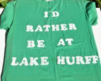 1970s I'd Rather Be At Lake Hurff