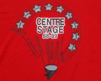 1980s '88-89 Centre Stage Red  XL